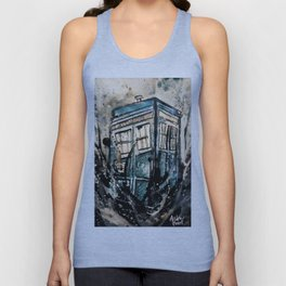 TARDIS from Doctor Who Unisex Tank Top