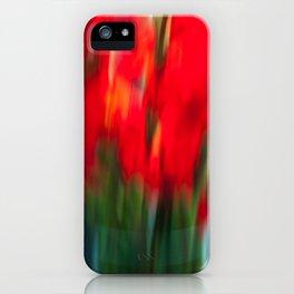Red Gladiola iPhone Case