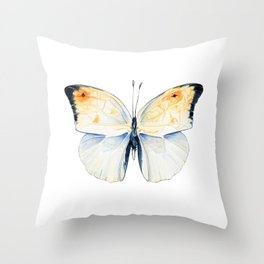 Brimstone Peony Throw Pillow