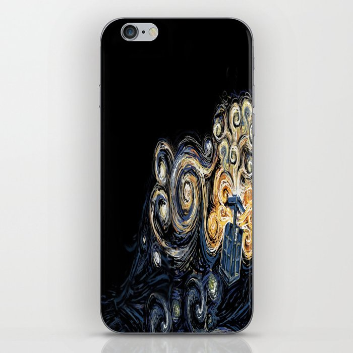 Doctor Who Van Gough iPhone Skin