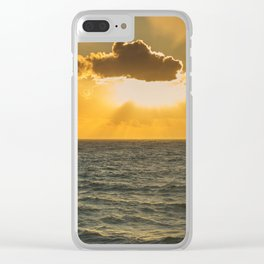 Another Sunset in Cornwall Clear iPhone Case