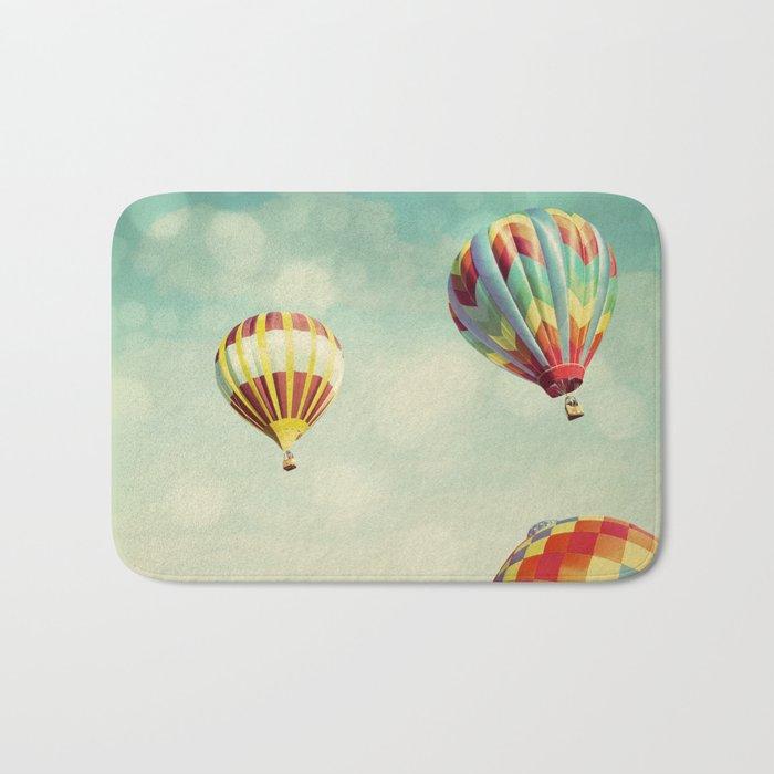 Perfect Dream - Hot Air Balloons Bath Mat