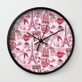 Paris 101 Wall Clock