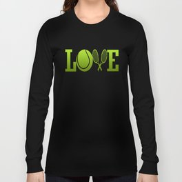 LOVE TENNIS Long Sleeve T-shirt