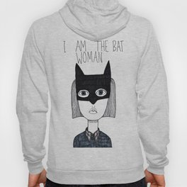 Bat Woman Hoody