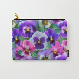 Bouquet of violets I Carry-All Pouch