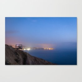 An Evening on the Coast Canvas Print