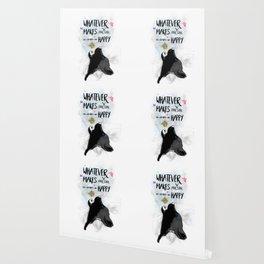 Soulful Wolf Fantasy Wallpaper