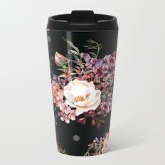 Vintage rose garden Metal Travel Mug