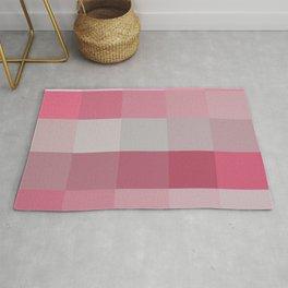 Pixels: Pinks & Grey Rug