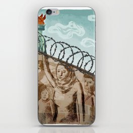 Immigration iPhone Skin
