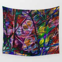crystal Wall Tapestries featuring Crystal by Stephen Linhart