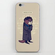 Sherlotter iPhone & iPod Skin