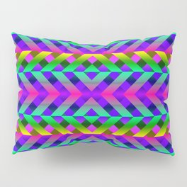 Rainbow Scaffolding Pillow Sham
