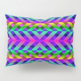 Rainbow Scaffolding Pillow Sham