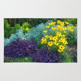 Floral Print 018 Rug