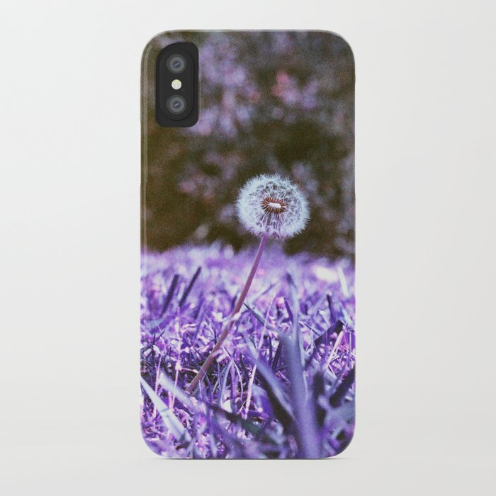 Blowball in Purple iPhone Case