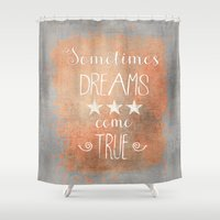 dreams Shower Curtains featuring Dreams by LebensART