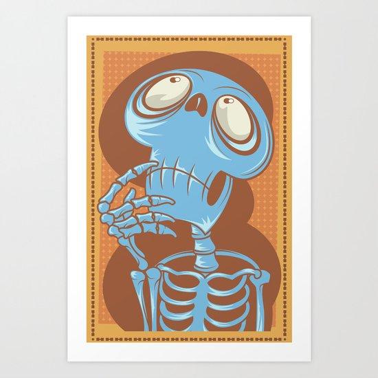 Hmmm.... Art Print