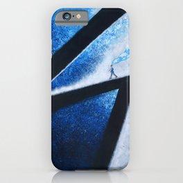 Blue Memories iPhone Case