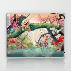 Jungle kid. Laptop & iPad Skin