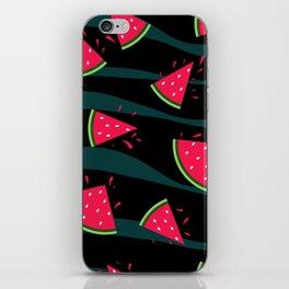 Watermelon slice . iPhone Skin