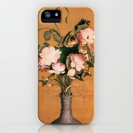 Giuseppe Castiglione Beauties Collection iPhone Case