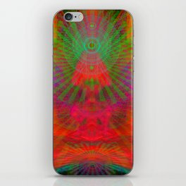 Love Radiation Meditation iPhone Skin