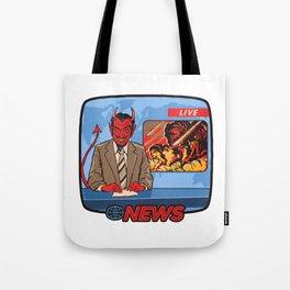 BREAKING NEWS Tote Bag