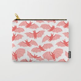 Cute pink bats Carry-All Pouch