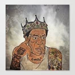 Kxng Cosby Canvas Print