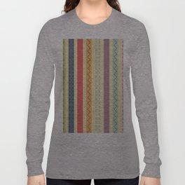 Abstract Shapes Long Sleeve T-shirt