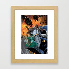 Blackjack: High Road To Adventure Framed Art Print