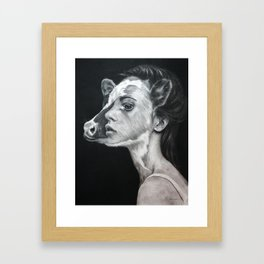 We Are The Same Framed Art Print