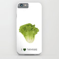 Lettuce - I love veggies iPhone 6s Slim Case