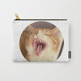 Kristofferson cat yawns Carry-All Pouch