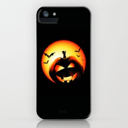 Smile Of Scary Pumpkin iPhone Case