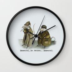 Sherlock Holmes wisdom Wall Clock