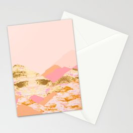 Graphic Mountains S Stationery Cards