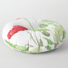 Blooms and Buds Floor Pillow