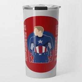 The First Avenger Travel Mug