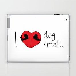 I Love Dog Smell Laptop & iPad Skin