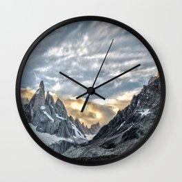 Patagonia Landforms  Wall Clock