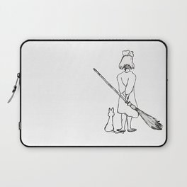 Believe in Yourself (Kiki) - Sketch Laptop Sleeve