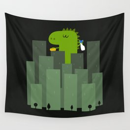 Clean monster Wall Tapestry