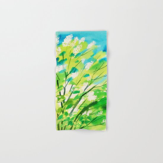 Tree in bloom ❤ Hand & Bath Towel