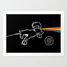 Dark Side of the WTF! Art Print