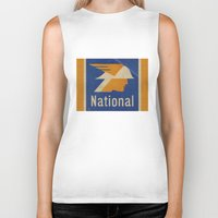 the national Biker Tanks featuring National Logo by Bruce Stanfield