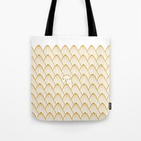 donut Tote Bags featuring Donut by Jarvis Glasses