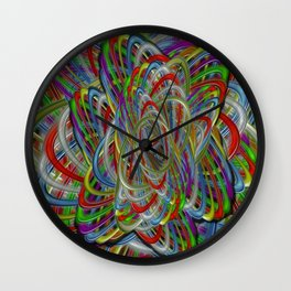 Astray Colors Wall Clock